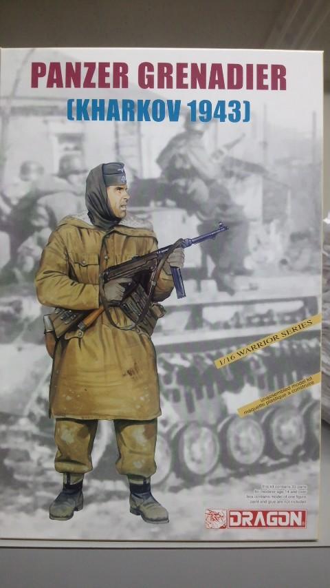 ドラゴン 1/16 1613 独 装甲榴弾兵(ハリコフ1943)