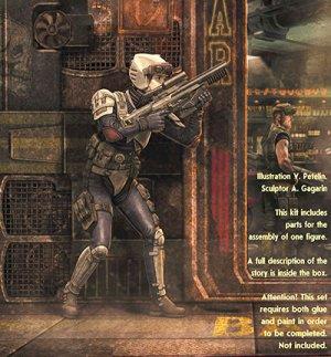 画像1: マスターボックス 1/24 MB24055 宇宙の果ての奇妙な仲間シリーズ1:特殊部隊員ローリー・ライトニングボルト