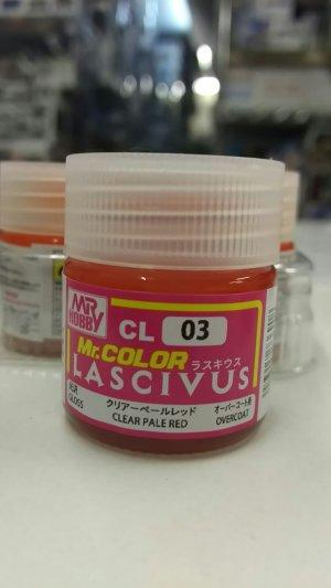 画像1: CL03 Mr.カラー LASCIVUS(ラスキウス) クリアーペールレッド 10ml <光沢>