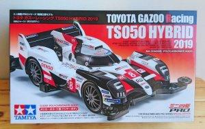 画像1: 【通販特価】トヨタ ガズーレーシング TS050 HYBRID 2019 (MAシャーシ) (ポリカボディ)